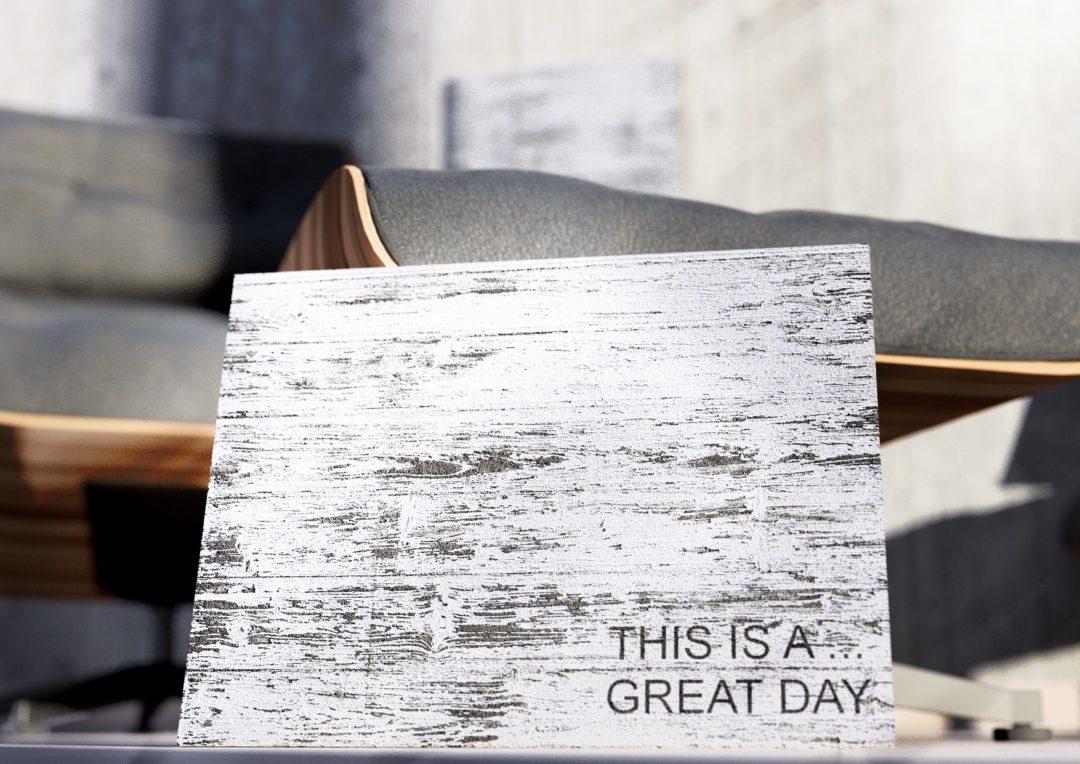 """Szyld dekoracyjny """"GREAT DAY"""""""