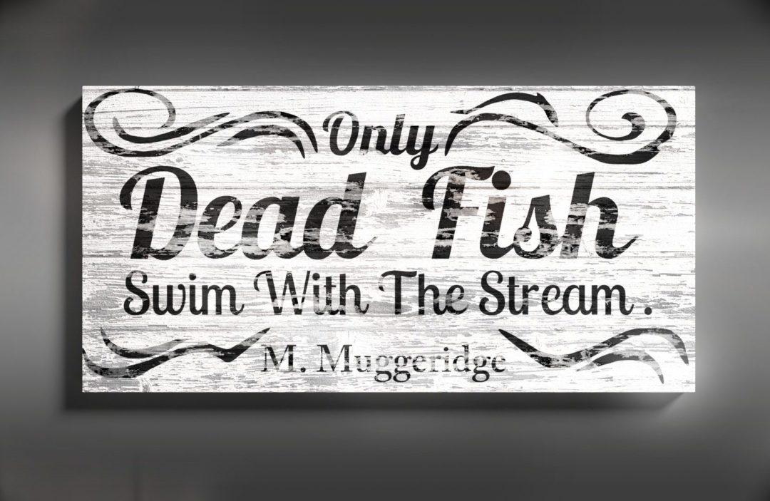 "Dekoracja ścienna ""FISH"""