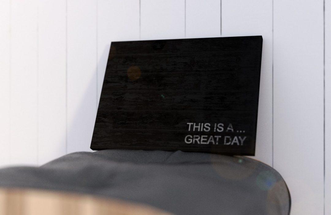 "Tablica – ""GREAT DAY"""