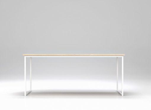 Biały stół Basic Fyra jest stabilny, funkcjonalny i powstał, aby służyć swoim użytkownikom. Jego design jest uniwersalny i ponadczasowy, a skandynawski charakter dodaje mu dodatkowego uroku i lekkości.