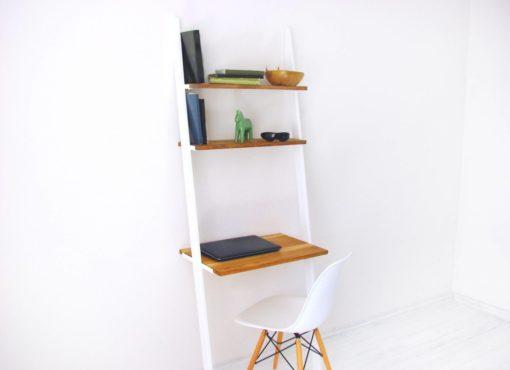 nowoczesne biurko przyscienne Bello skandynawski design