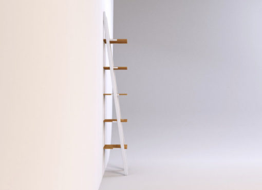 Półka SMUKKE to nowoczesny minimalizm w najlepszym wydaniu. Linie są proste, forma delikatna a tekstury naturalnych materiałów mocne i wyraziste. Pięć kwadratowych półek, ustawionych jedna nad drugą, jest wykonanych z litego drewna dębowego.