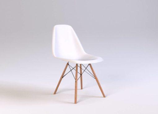 Cieszące się wielką popularnością designerskie krzesło inspirowane jedną z ikon wzornictwa meblarskiego XX wieku. Idealne do kuchni, jadalni i salonu.Jest niezwykle wygodne i zapewniająca wysoki komfort siedzenia.