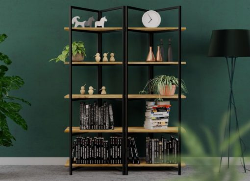 Regał industrialny – BONITO Black