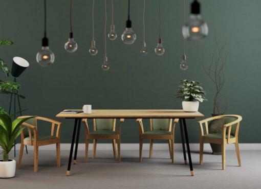 Uniwersalny stół do każdego wnętrza, FINT Black. Zachwyca prostotą i elegancją.