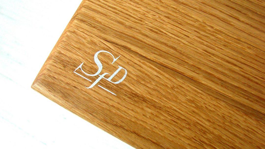 stół industrialny FINT drewno