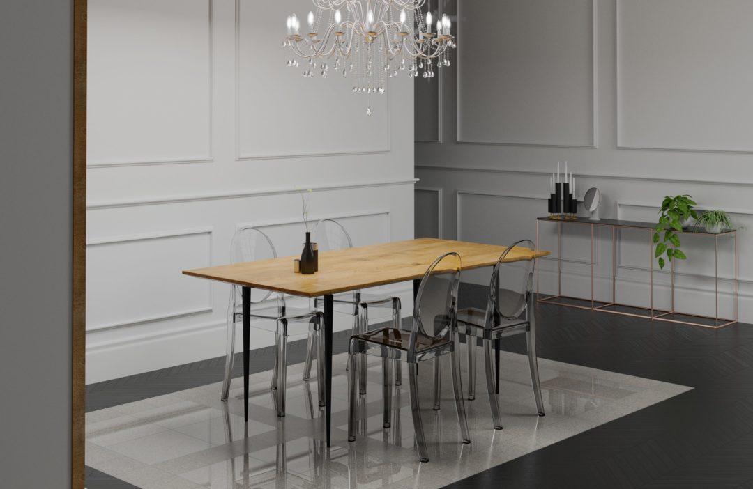 Stół do jadalni – BLACK MAGIC