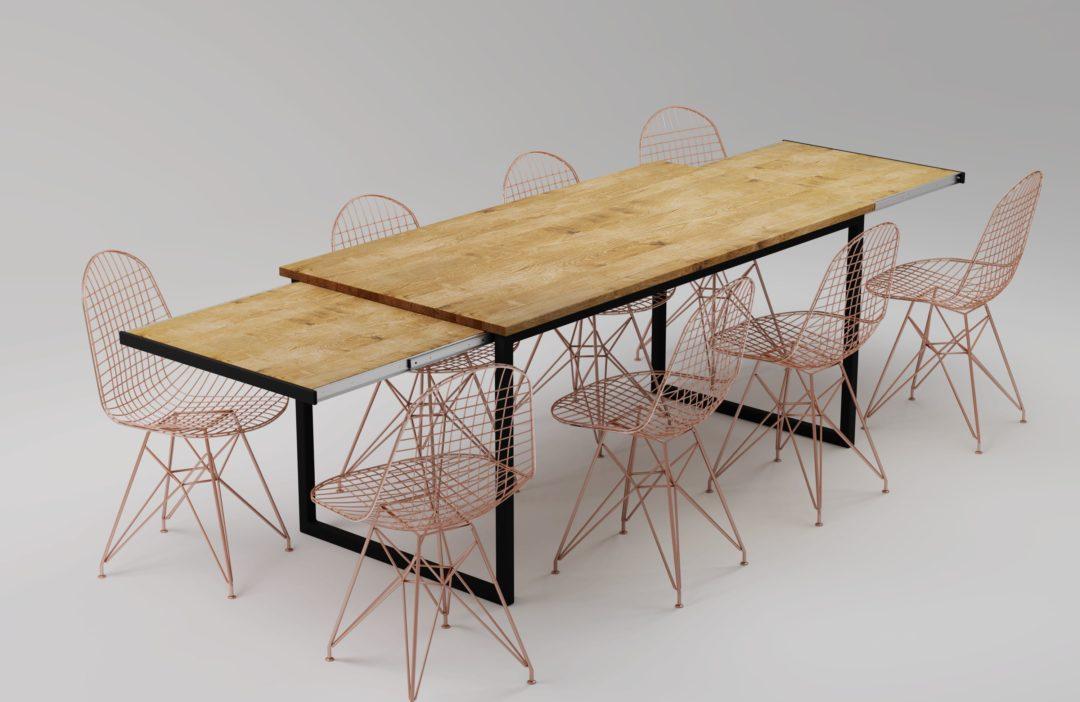 Stół rozkładany – Basic VIS