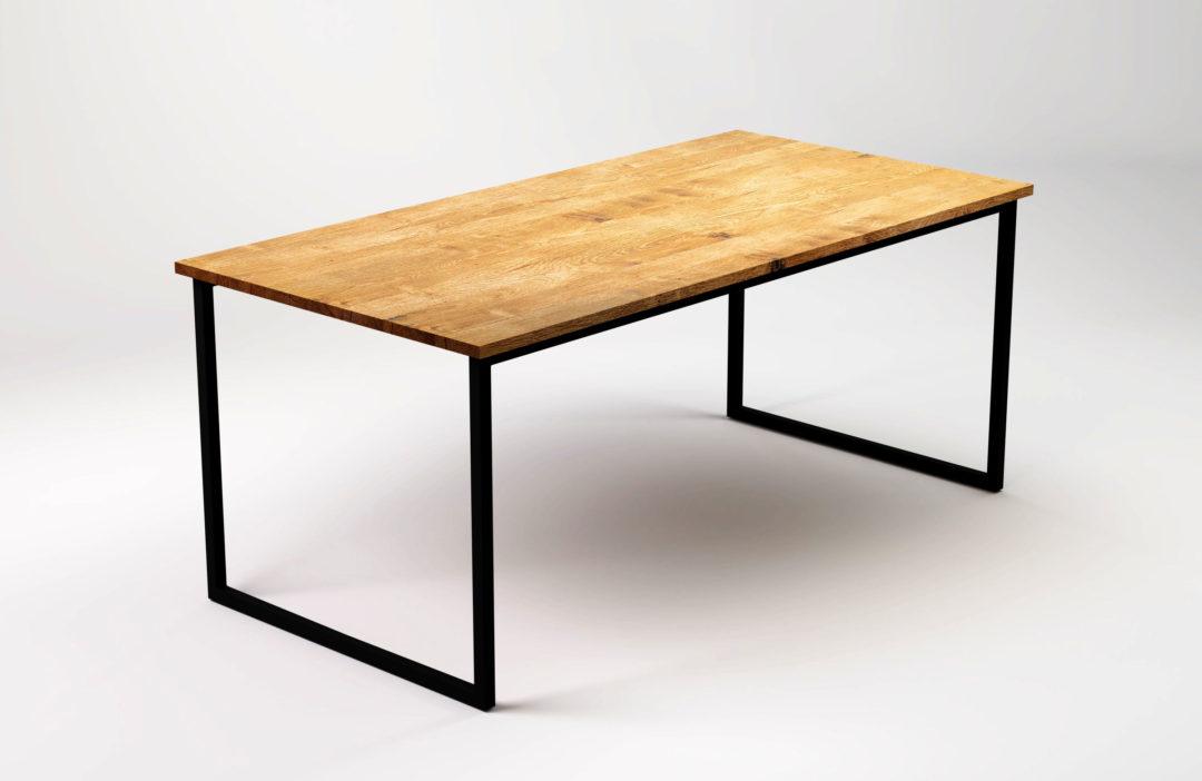 Nowoczesny stół w stylu skandynawskim do jadalni