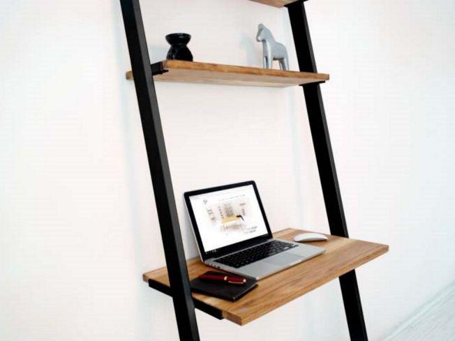 biurko drabinka w stylu skandynawskim