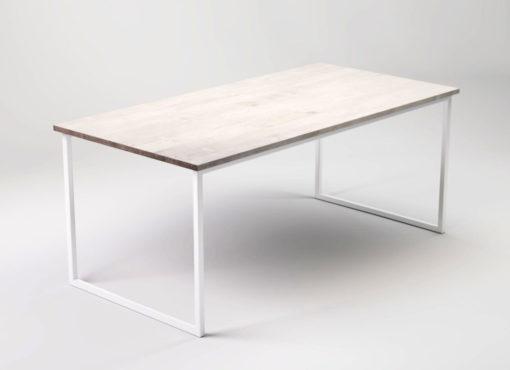 Nowoczesny biały stół do kuchni i jadalni Basic FEM.