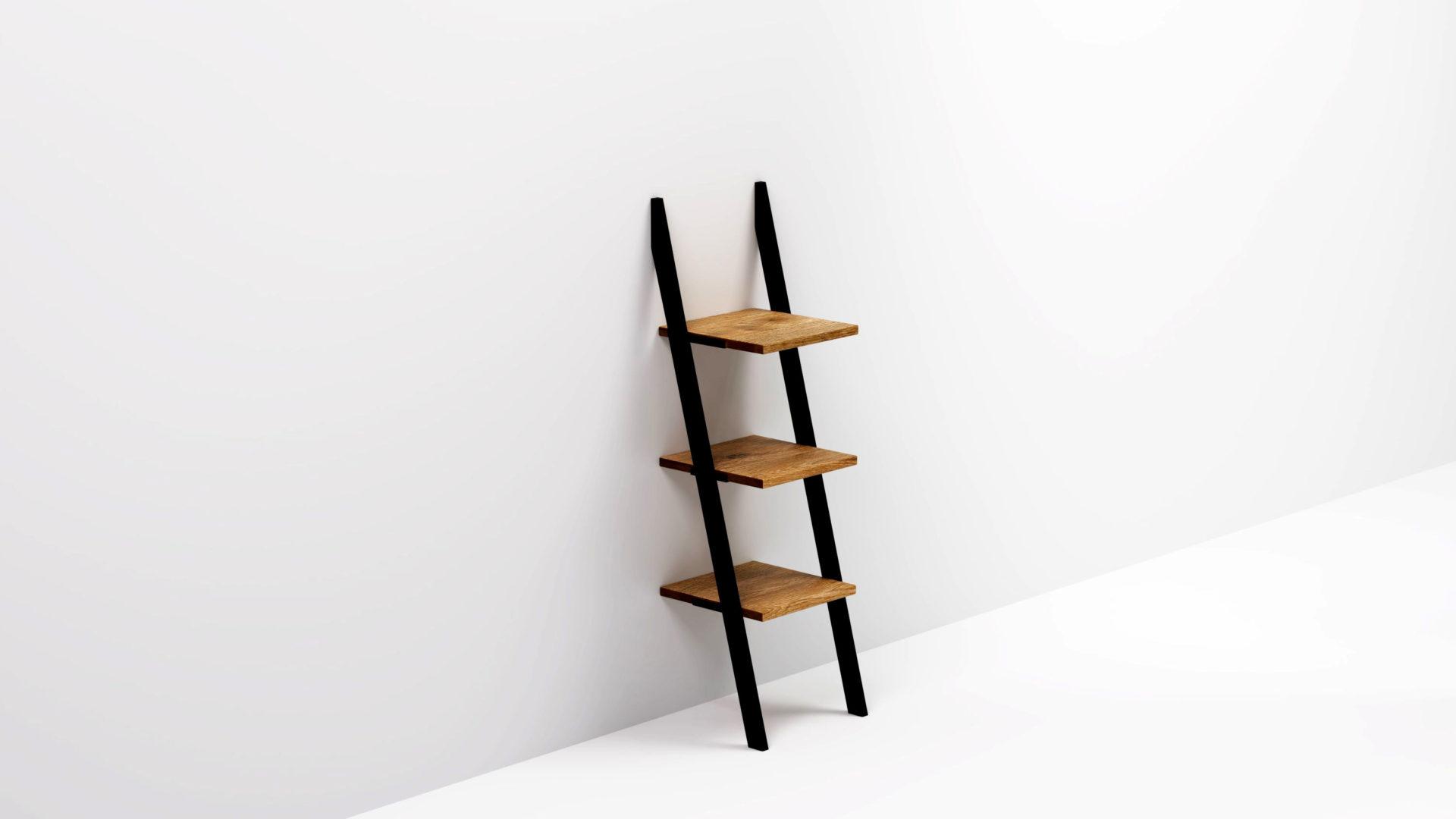 Mała półka NANI Black to uniwersalne zastosowanie i uniwersalny design. Niewielkie wymiary i ażurowa, niewymagająca montażu konstrukcja.