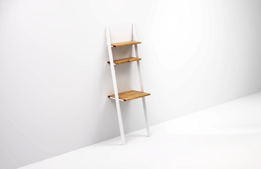 BELLO to małe biurko o minimalistycznej konstrukcji i prostej formie. Świetnie pasuje do nowoczesnych wnętrz.