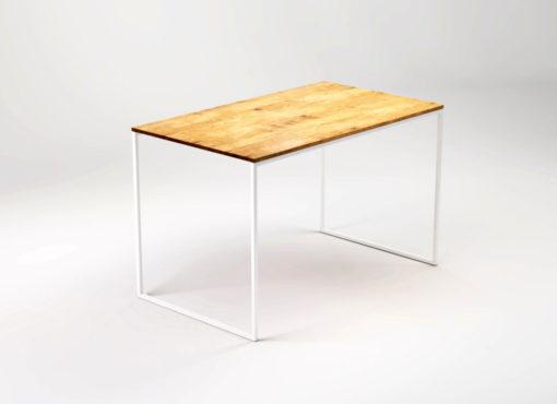 Mały stół LIGHT TRE zmieści się nawet do najmniejszych przestrzeni. Niezwykle praktyczny w przytulnych mieszkaniach i kawalerkach. Pięknie się prezentuje w niewielkiej kuchni czy przy aneksie kuchennym. Stół można również wykorzystać jako niewielkie biurko w gabinecie lub salonie. Dostępny jest w dwóch długościach, 120 i 140 cm.