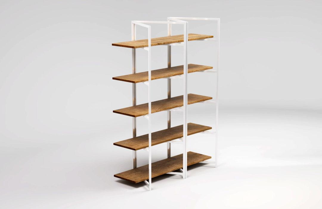 Regał nowoczesny BONITO jest niezwykle funkcjonalny, dzięki czemu znajdzie szerokie zastosowanie we wnętrzach kuchennych, jadalniach, ale też w spiżarniach, innych przestrzeniach magazynowych oraz jako regał ekspozycyjny.