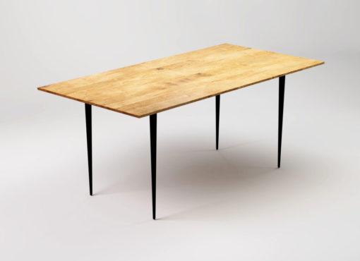 Stół nowoczesny BLACK MAGIC świetnie będzie się prezentować w salonie. Doskonale sprawdzi się w kuchni i jadalni. Będzie ozdobą biura lub gabinetu jako nowoczesne, oryginalne biurko. Urzeka jego prostota, szyk i elegancja.