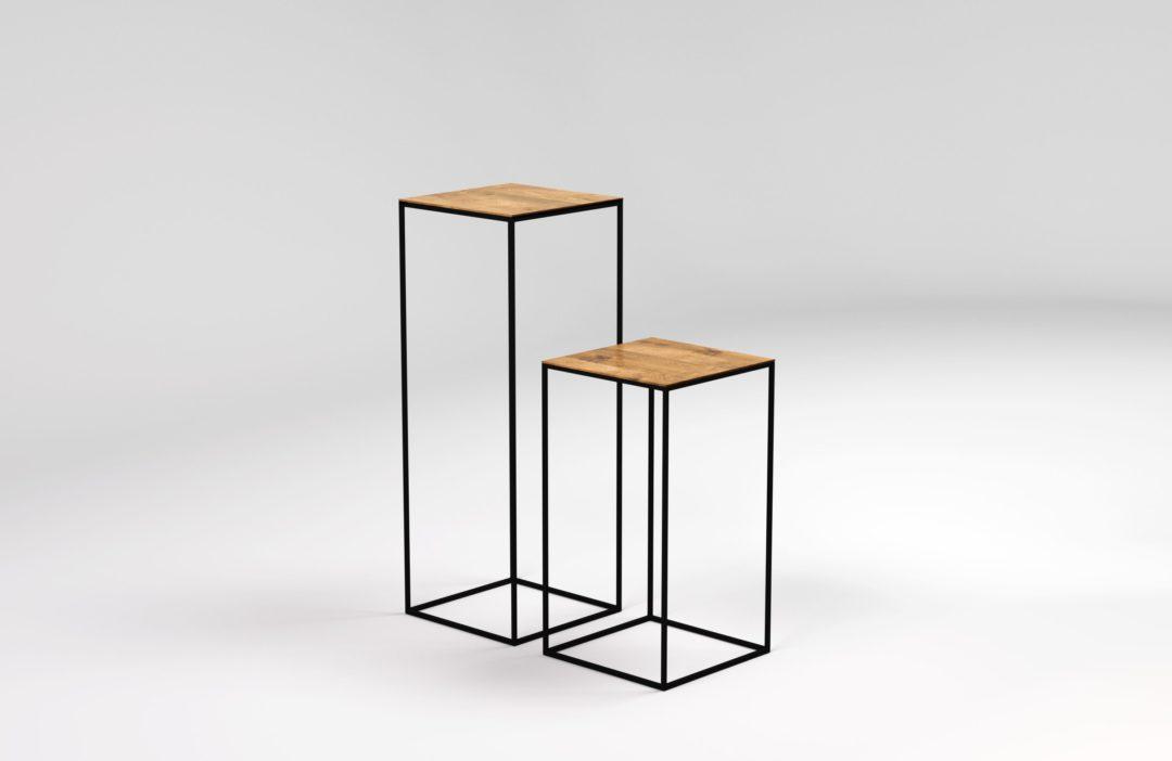 stoliki w stylu skandynawskim