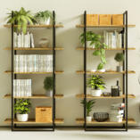 Nowoczesny regał industrialny NIVÅ. Idealny do nowoczesnych wnętrz w domu i do biura.