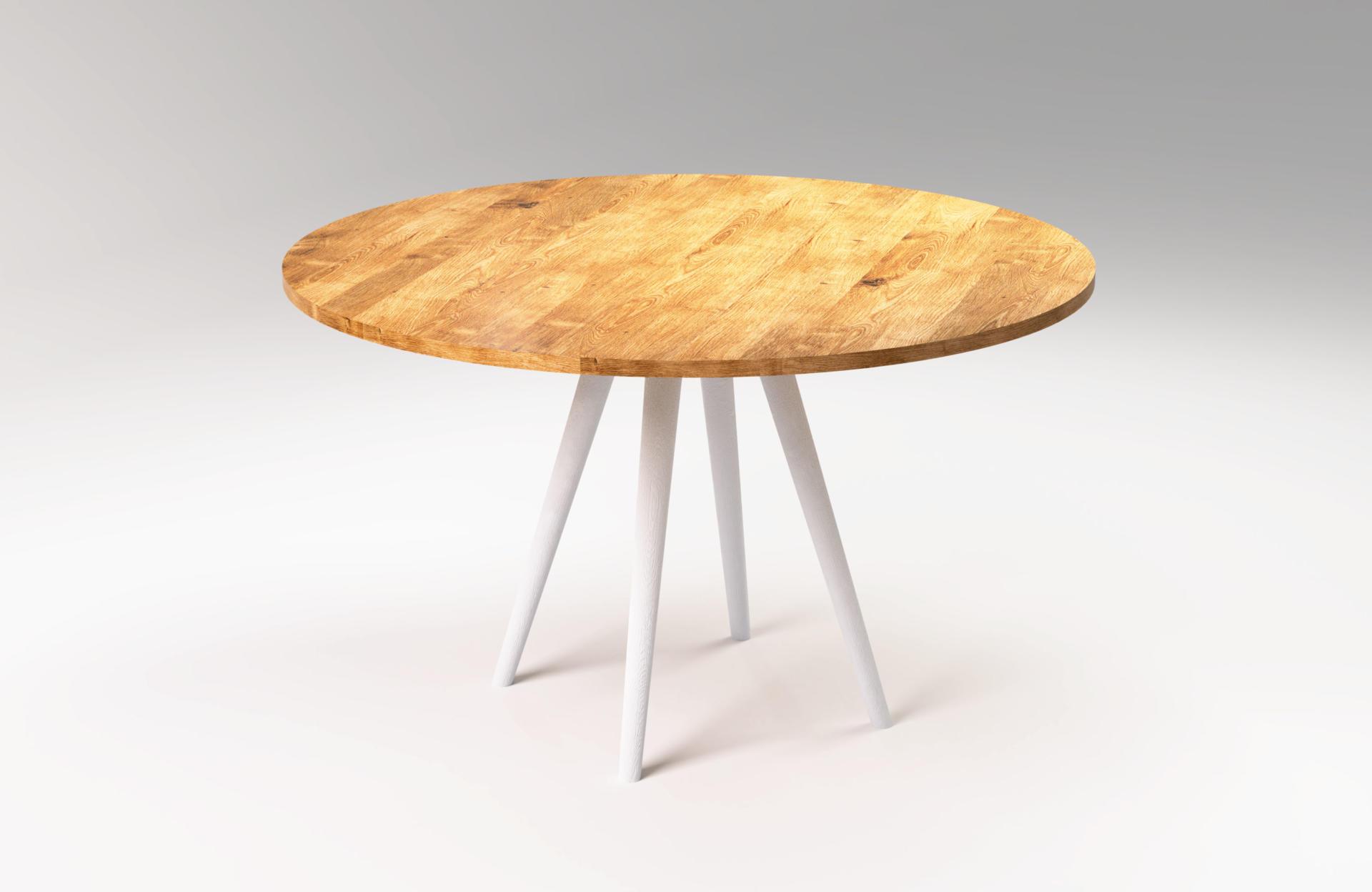 Nowoczesny okrągły stół SOL od SFD Meble.