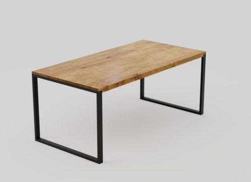 Black Forest - nowoczesny stół dębowy do jadalni