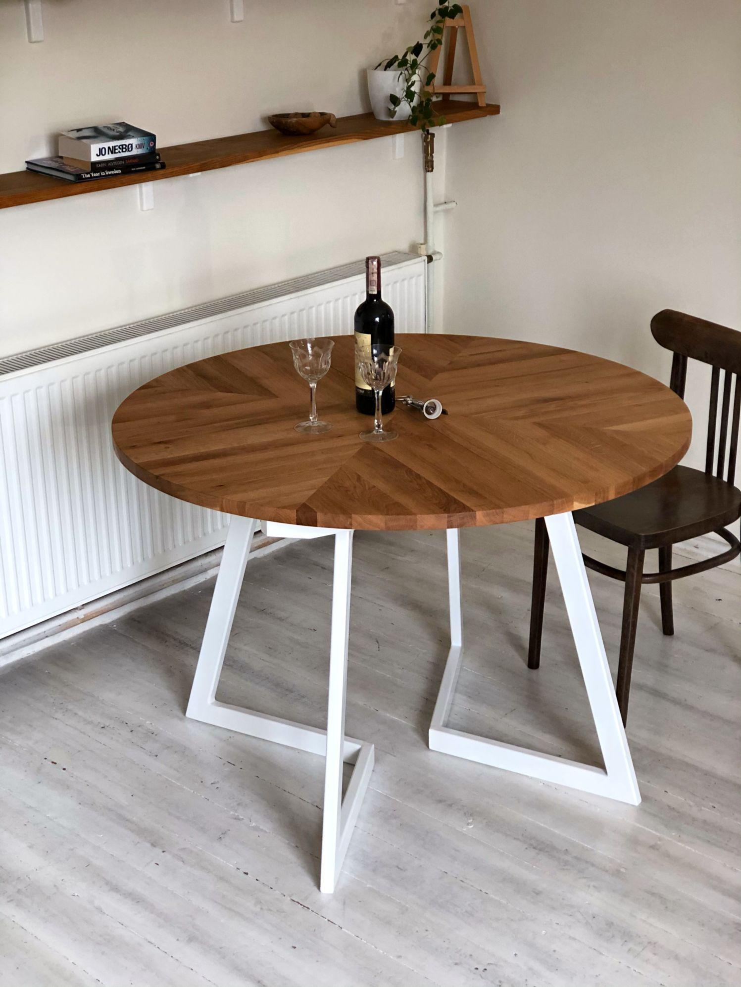 1_MAIN_ nowoczesny stół okrągły rozkładany